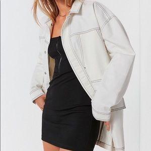 NWT UO contrast stitch workwear jacket